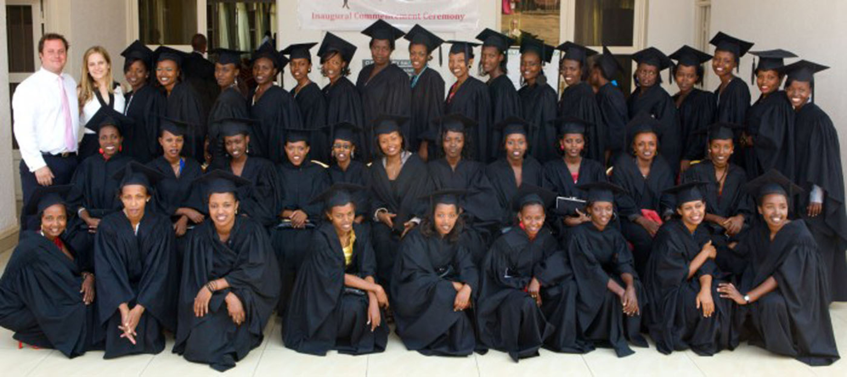 Marriott International Expands Job Partnership for Young African Women. Global Hotel Company Will Bring 24 Additional Graduates, pictured here, from Akilah Institute for Women to Train and Work in its Dubai and Doha Hotels.  (PRNewsFoto/Marriott International)