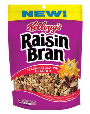 "Raisin Bran ""Cranberry Almond Granola"""
