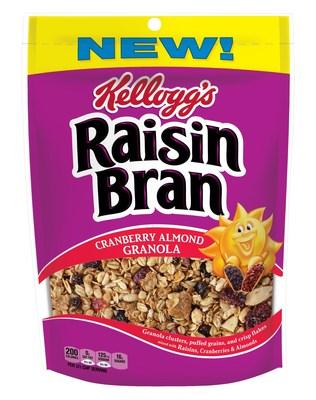"Raisin Bran ""Cranberry Almond Granola"""
