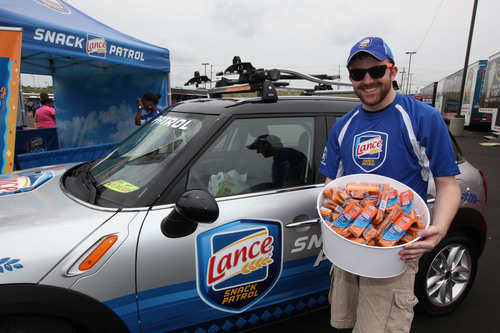 Lance-Sponsored NASCAR Sprint All-Star Race Concert Draws Thousands of Fans at Charlotte Motor Speedway.  (PRNewsFoto/Lance(R) Sandwich Crackers)