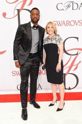 Dwyane Wade and Carole Hochman
