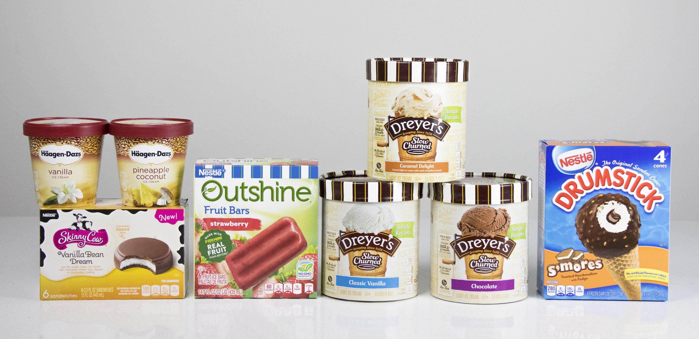 Nestle Ice Cream Products