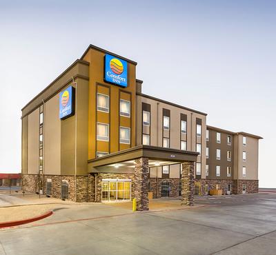 New Comfort Inn prototype.  (PRNewsFoto/Choice Hotels International, Inc.)