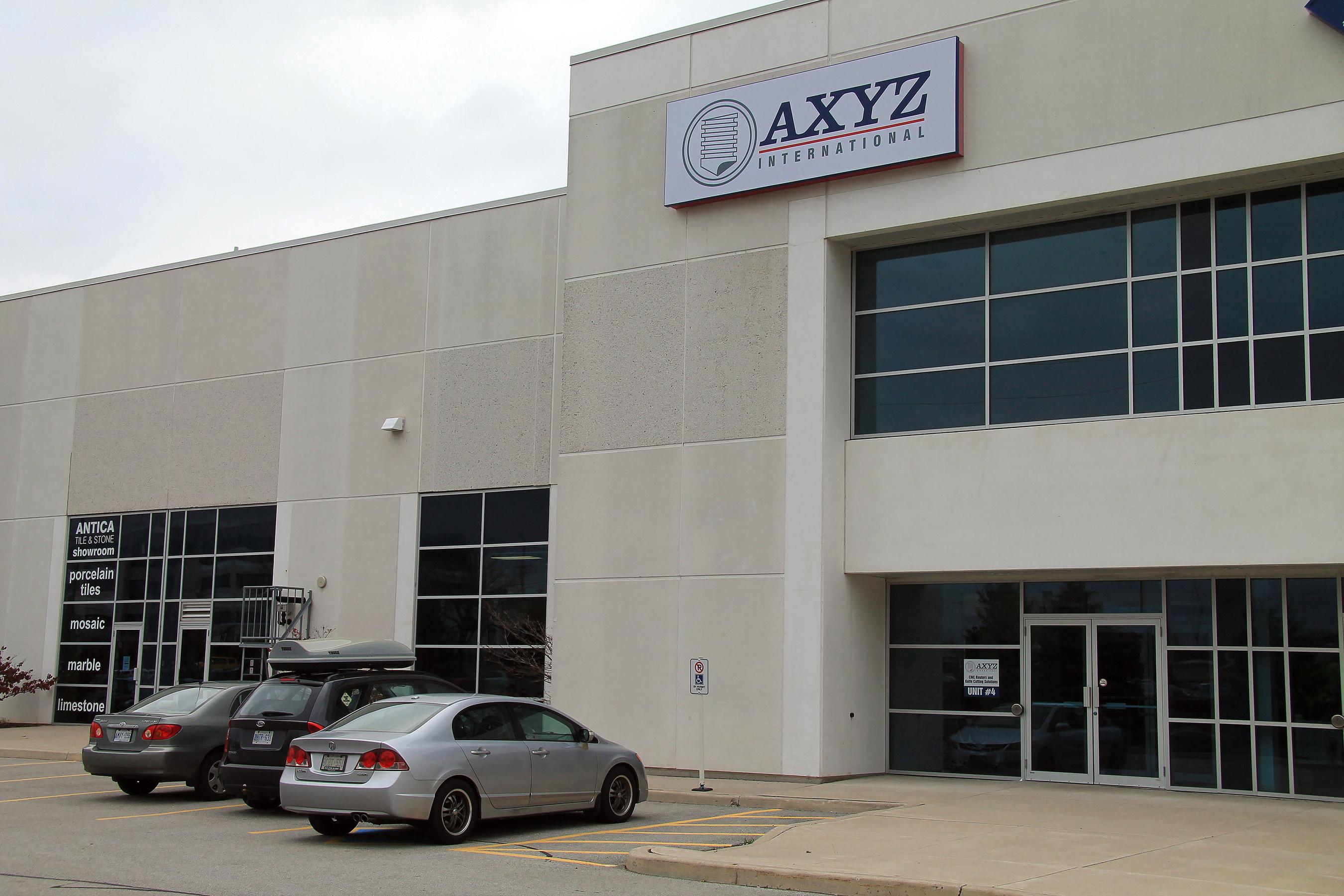 AXYZ International Opens Burlington Office and Showroom