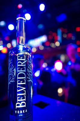 Belvedere Silver Saber.  (PRNewsFoto/Belvedere Vodka)