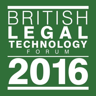 British Legal Technology Forum 2016 Logo (PRNewsFoto/Repstor)