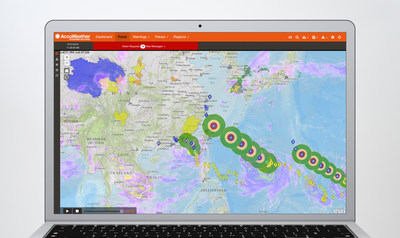 AccuWeather Enterprise Services portal delivery system