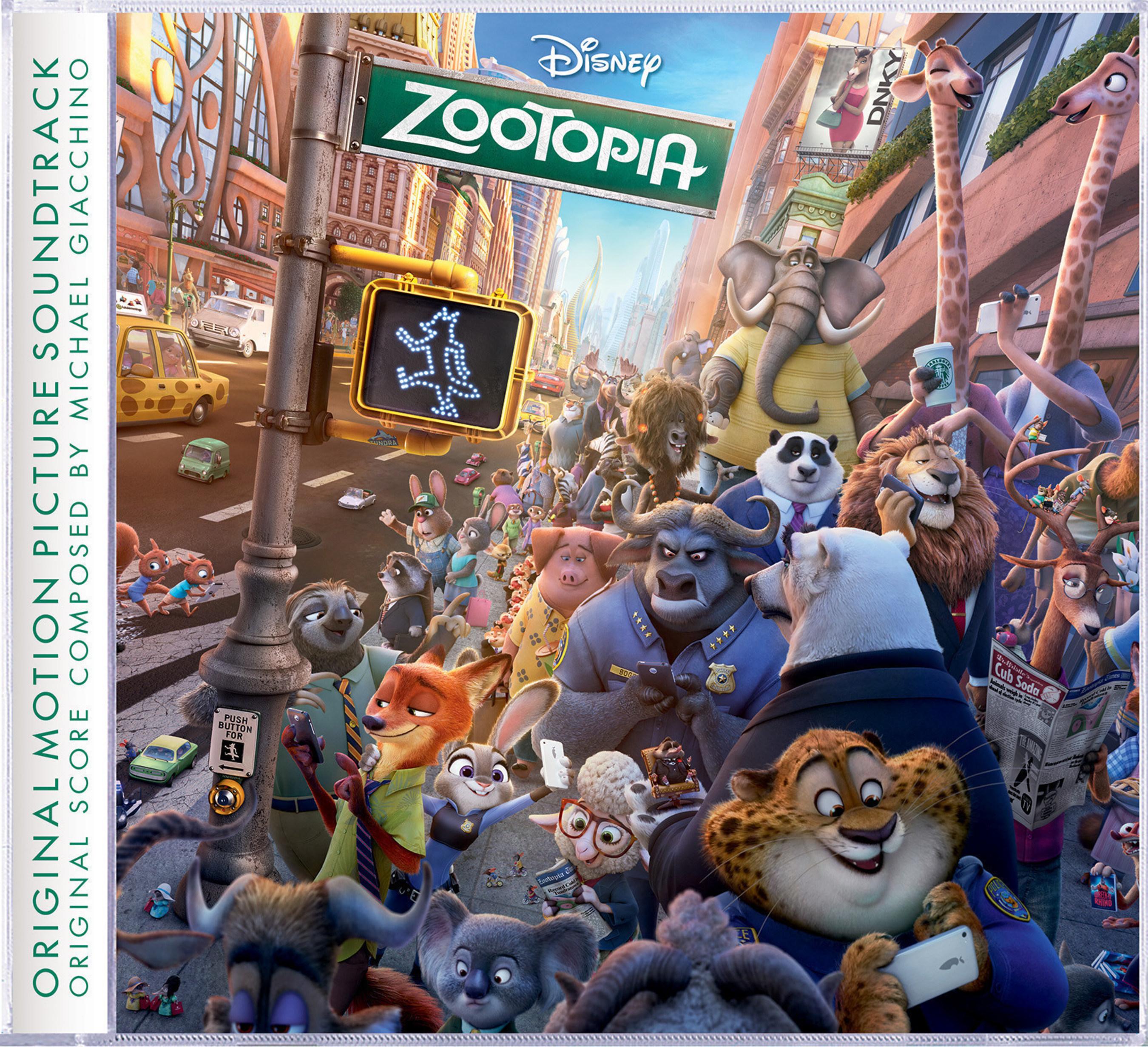 Zootopia cover art