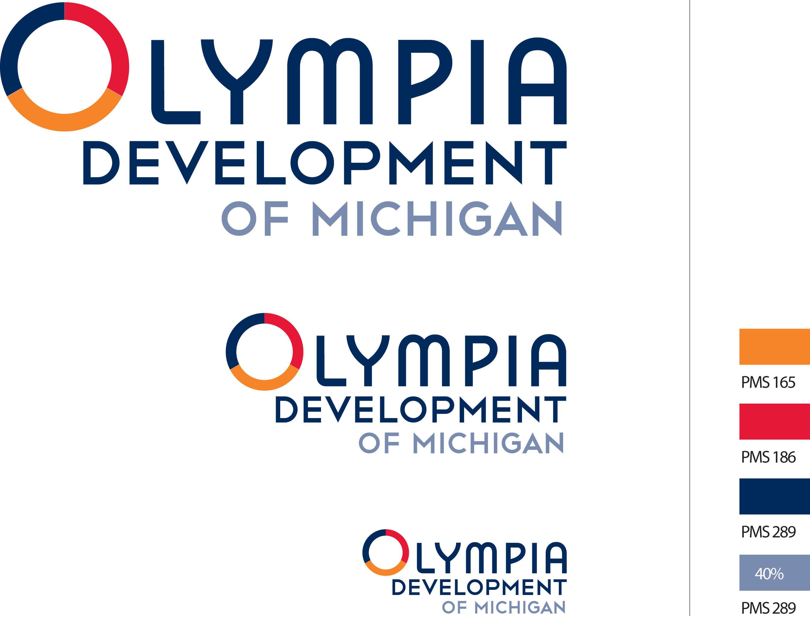 Olympia Development of Michigan Logo