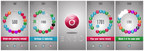 Enso Brilliant Puzzle Game by Planet of the Apps Screenshots