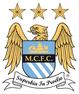 Manchester City Football Club Logo.  (PRNewsFoto/GAIN Capital Holdings, Inc.)