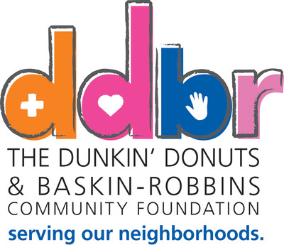 The Dunkin' Donuts & Baskin-Robbins Community Foundation Logo.