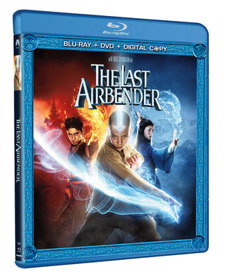 THE LAST AIRBENDER arrives in a DVD/Blu-ray Combo pack November 16, 2010 from Paramount Home Entertainment.  (PRNewsFoto/Paramount Home Entertainment)