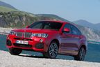 Available since July 2014: the new BMW X4.