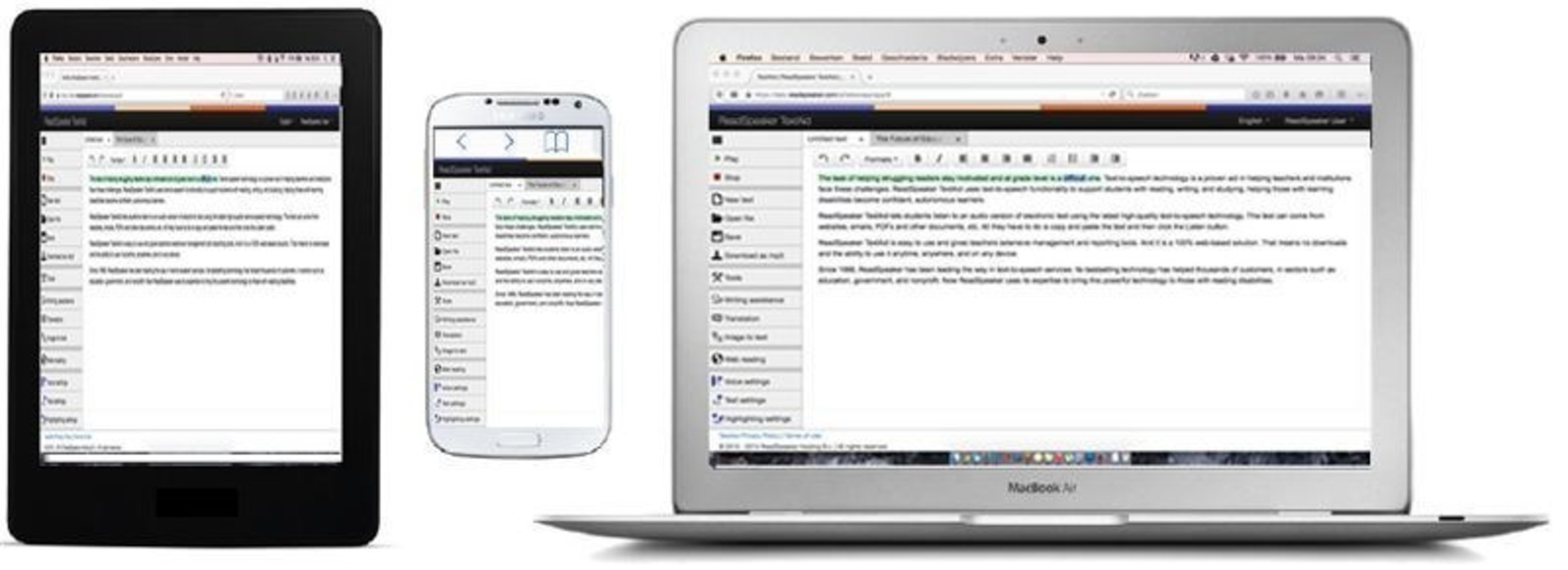 ReadSpeaker's TextAid Continues to Improve the Lives of Struggling Readers of All Ages