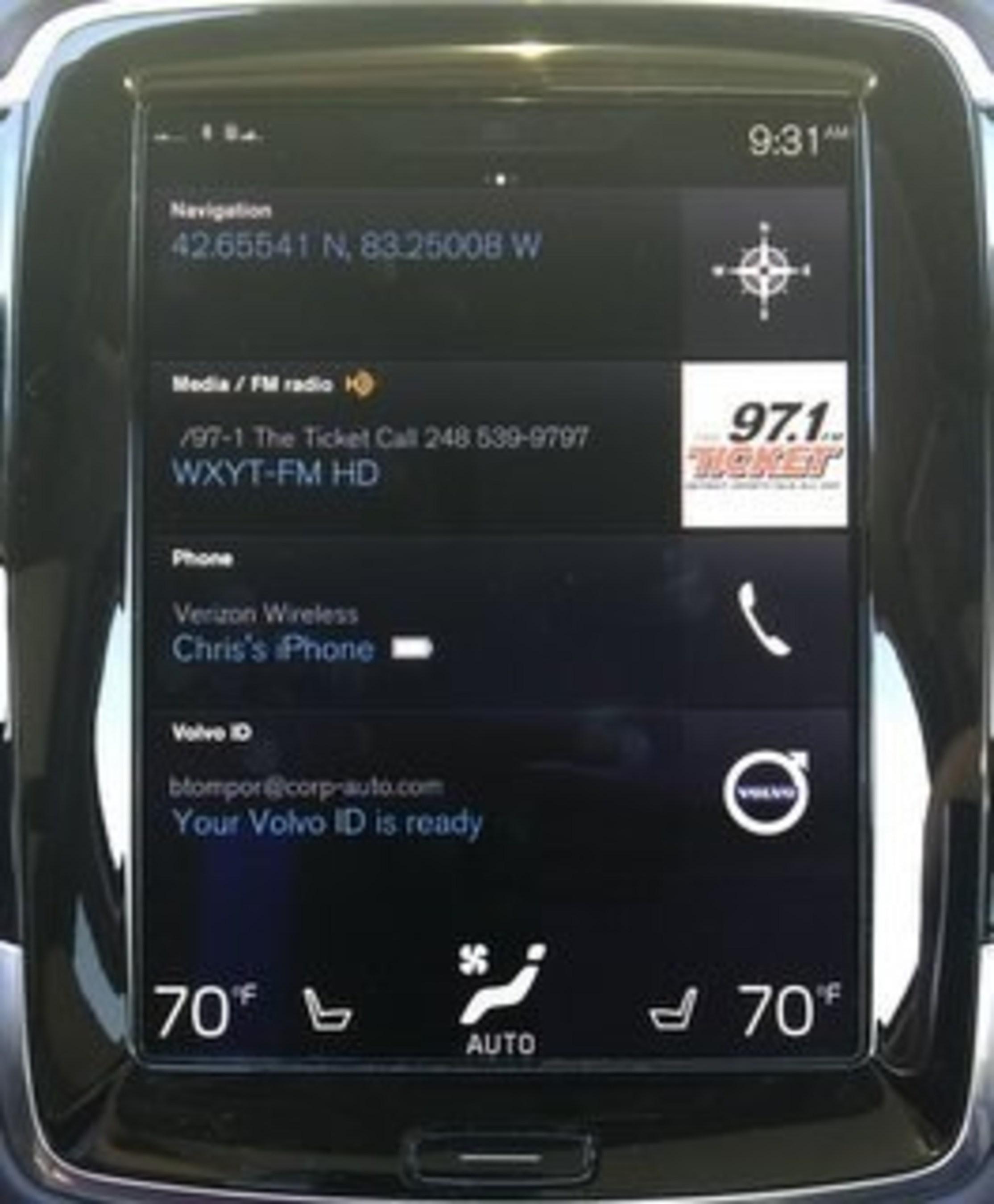 User Experience Benchmark: Volvo XC90