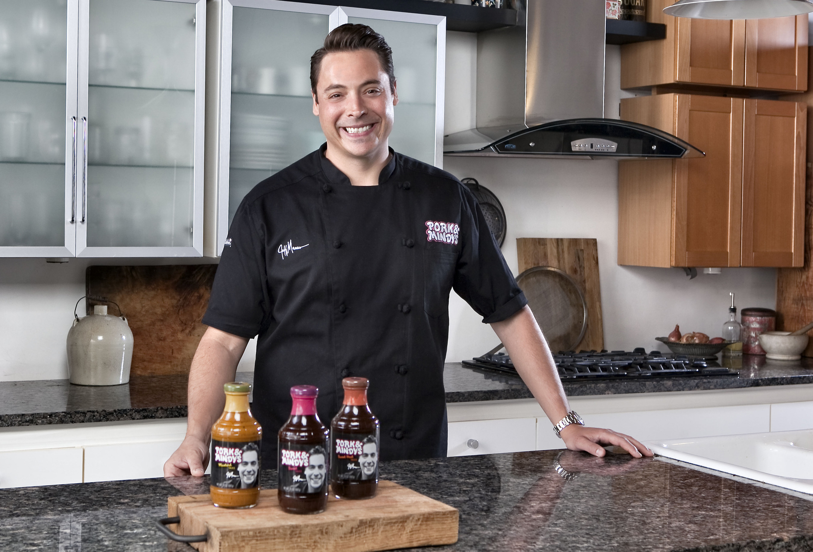 Food Network Star of Sandwich King and The Kitchen Debuts Line of Innovative Sauces Just in Time for Summer Grilling Season