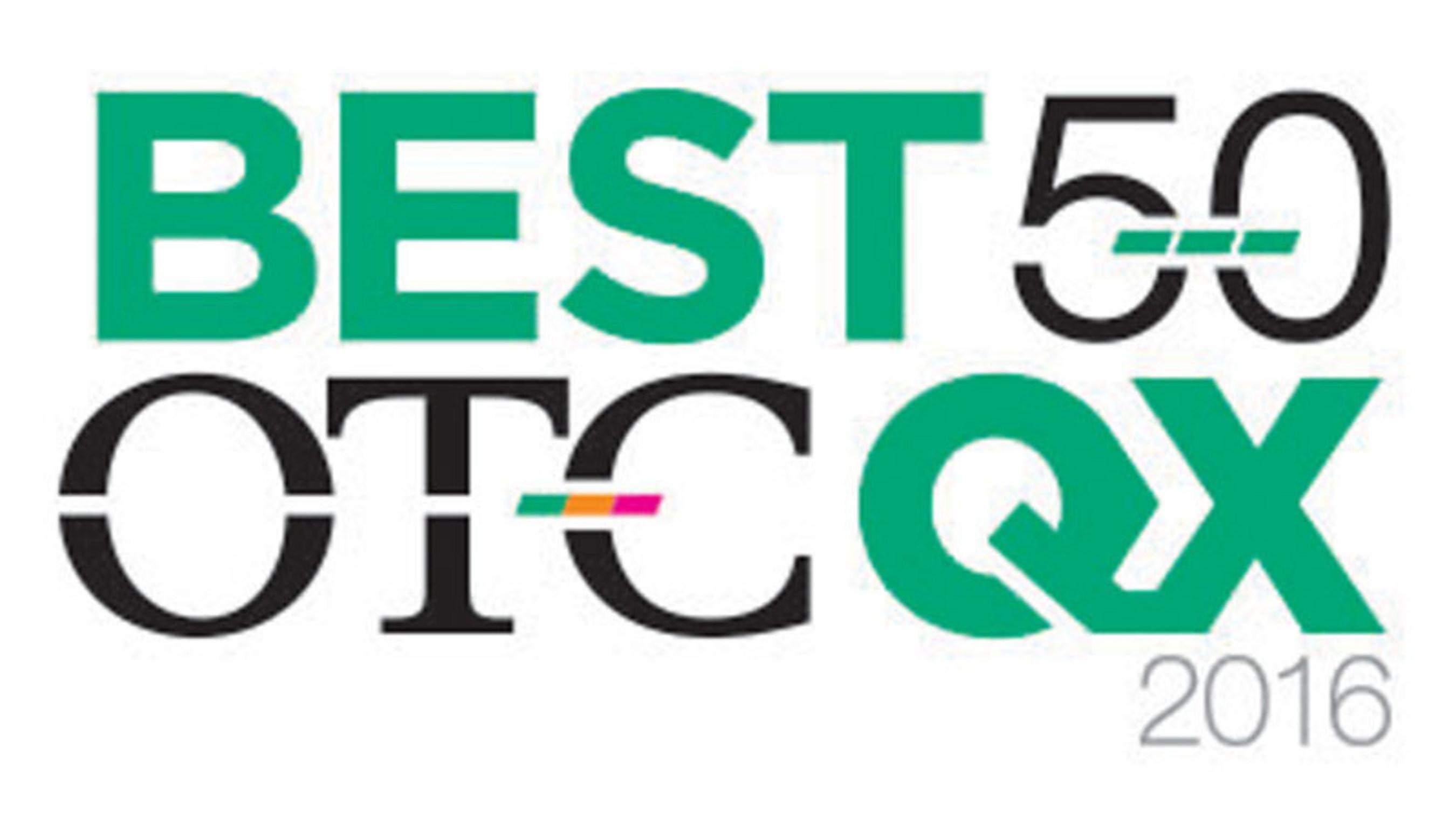 OTC Markets Group Announces the 2016 OTCQX Best 50