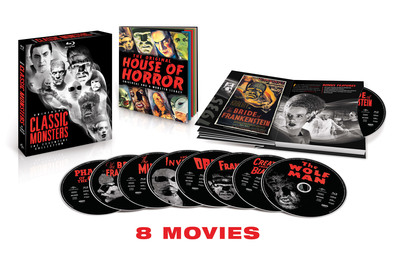 Universal Classic Monsters: The Essential Collection.  (PRNewsFoto/Universal Studios Home Entertainment)