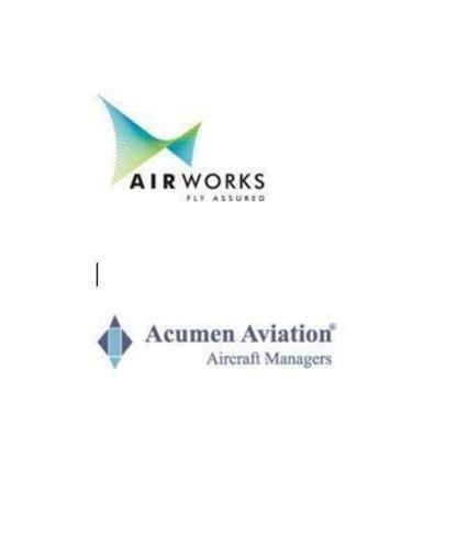 Air Works and Acumen Aviation Logo (PRNewsFoto/Air Works)