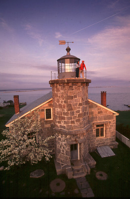 Stonington's Lighthouse Museum at sunset. By Michael Melford for Mystic Country, Connecticut.  (PRNewsFoto/Mystic Country)