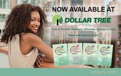 U R Curly Now Available Nationwide at Dollar Tree (PRNewsFoto/U R Curly)