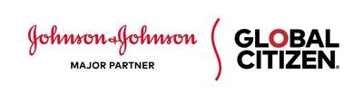 Johnson & Johnson and Global Citizen Partnership logo