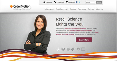 Skyrocketing direct-to-consumer competition demands market leaders respond with sophisticated order management, PIM, customer retention, and multichannel customer service. These tools applied with retail science are the catalyst for dramatic profit.  (PRNewsFoto/OrderMotion, Inc.)
