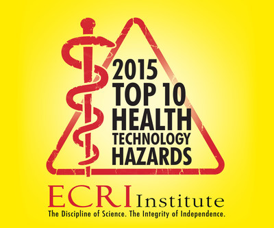 What could possibly go wrong in hospitals? Many things, according to ECRI Institute, an independent nonprofit that researches the best approaches to improving patient care. Hazards caused by medical technology are a prime example-because hazards can lead to accidents and patient harm. To help hospitals reduce technology-related risks, ECRI Institute publishes an annual list of Top 10 Health Technology Hazards. The just-released 2015 hazards list highlights 10 safety topics that ECRI Institute deems crucial for hospitals to address in the coming year. Download now for free at www.ecri.org/2015hazards.