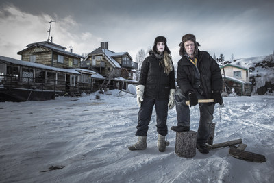 Molly McKinnon and Gary Vallaincourt from Ice Lake Rebels. (PRNewsFoto/Animal Planet)
