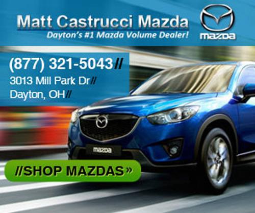 Mazda dealership in Dayton, OH.  (PRNewsFoto/Matt Castrucci Mazda)