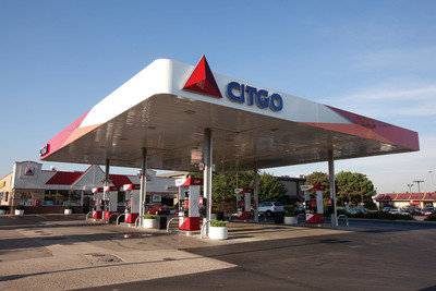A locally owned CITGO station in Park City, Illinois is one of the first to feature the innovative new CITGO street image. The new design was launched to coincide with the 100th anniversary of the CITGO brand and will be available to local CITGO Marketers and Retailers across 27 states and the District of Columbia beginning September 1, 2010. (PRNewsFoto/CITGO, Dave Gilo)