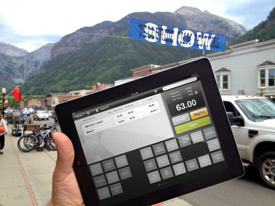 Telluride Film Festival Debuts Mobile Payments Powered by PayPal and ShopKeep POS