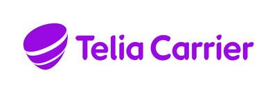 Telia Carrier logo (PRNewsFoto/Telia Carrier)