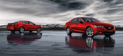 The award-winning 2015 Mazda6 employs Mazda Skyactiv Technology, making it one of the most efficient models available, surpassing Ford EcoBoost-powered competitors. (PRNewsFoto/Bill Jacobs Auto Group)