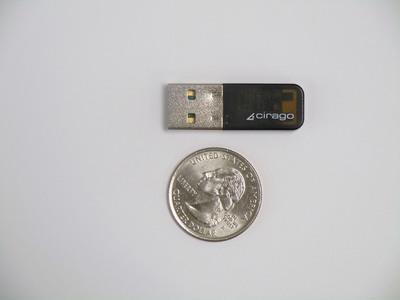 Cirago USB 3.0 High Speed Bluetooth Adapter.  (PRNewsFoto/Cirago International)