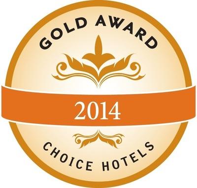 Choice Hotels Gold Award Prnewsfoto International