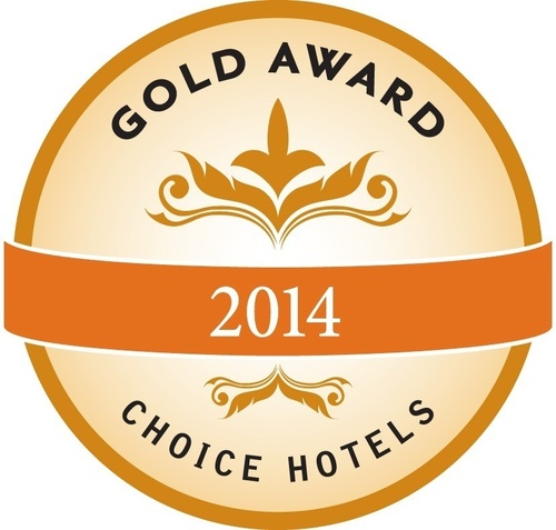 Choice Hotels Gold Award (PRNewsFoto/Choice Hotels International, Inc)
