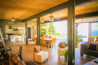 Kalon Surf is located in Dominical, Costa Rica at Altos de Miramar.  Guests enjoy an all-inclusive experience which includes beginning, intermediate and advanced surf coaching along with lodgings, spa treatments, cuisine, pilates, and first-class customer service.