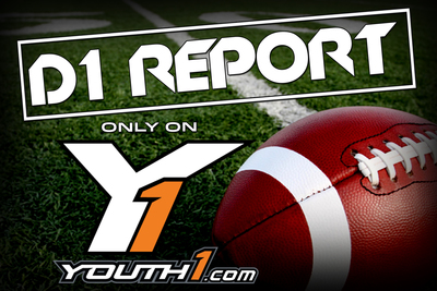 Youth1's D1 Report identifies the youth athletes that have already received confirmed verbal offers from Division I programs in football, hockey, basketball and lacrosse. The report premieres this week with the release of the Football DI Report, and will be followed with three more installments on the first Wednesday of the next three months. Each installment will be dedicated to a particular sport, highlighting all players that have confirmed a Division I verbal offer at an early age.  (PRNewsFoto/Youth1 Media)