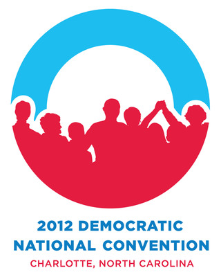 2012 Democratic National Convention Logo.  (PRNewsFoto/2012 Democratic National Convention Committee)