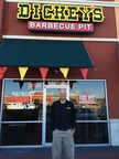 John Lockett outside his new Dickey's Barbecue Pit location in Daphne. The three day grand opening kicks off Thursday.
