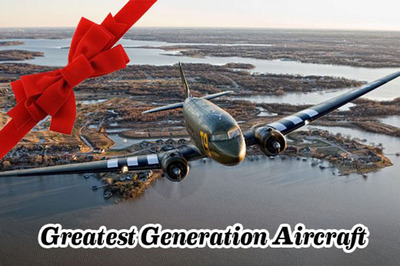 See Christmas Lights like never before!!! WWII C47 Now Booking Nightly Flights through Dec. 31.  (PRNewsFoto/Greatest Generation Aircraft)