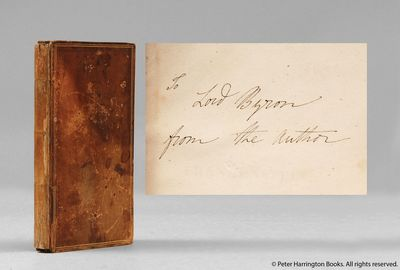 Renowned rare bookseller Peter Harrington is to present to the public the unique first edition presentation copy of Mary Shelley's Frankenstein (1818), given by her to Lord Byron, with her autograph inscription on the front flyleaf. The lost treasure of literature is expected to fetch over £400,000. It was discovered in a family library after 50 years. www.peterharrington.co.uk
