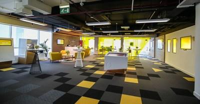 The Synechron Digital Innovation Centre (SDIC) (PRNewsFoto/Synechron)