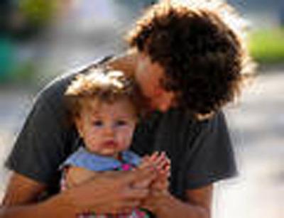 A teen father.  (PRNewsFoto/DADvocacy)