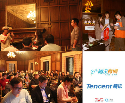Tencent Helps iOS Game Developers to Cross Borders at the Great Wall Club's Mobile Game Salon During the Game Developer Conference. (PRNewsFoto/Great Wall Club Inc)