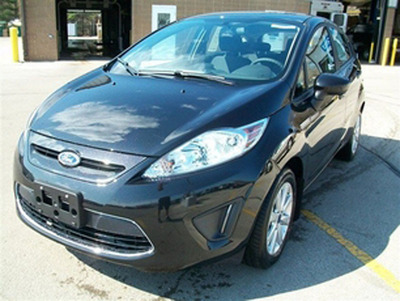 The Ford Fiesta is a perfect car for Back-to-School.  (PRNewsFoto/Broadway Automotive)