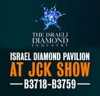 Israeli Diamonds Rock at JCK Las Vegas: 54 Great Israeli Exhibitors; Thousands of Outstanding Diamonds.  (PRNewsFoto/Israel Diamond Institute)