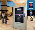 Adspace Networks' Smart Screen with Installed mTAG(R) Technology.  (PRNewsFoto/Adspace Digital Mall Network)